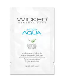 WICKED AQUA SAMPLE PACK(5 PER CUSTOMER)