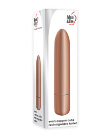 ADAM & EVE EVE'S COPPER CUTIE RECHARGEABLE BULLET