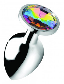 BOOTY SPARKS RAINBOW PRISM GEM ANAL PLUG LARGE