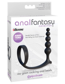 ANAL FANTASY ASS-GASM COCKRING ANAL BEADS