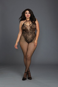 BODYSTOCKING BLACK QUEEN