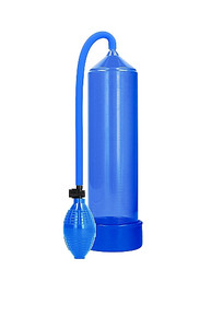 PUMPED CLASSIC PENIS PUMP BLUE