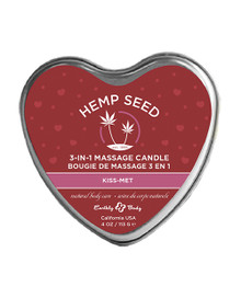 CANDLE 3-IN-1 HEART KISS-MET 4 OZ