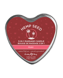 CANDLE 3-IN-1 HEART MUAH 4 OZ