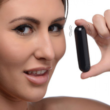 BANG! 10X VIBRATING METALLIC BULLET BLACK