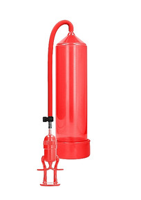 DELUXE BEGINNER PUMP RED