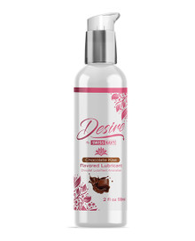 SWISS NAVY DESIRE CHOCOLATE KISS FLAVORED LUBE 2 OZ