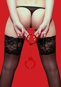 BEGINNER'S HANDCUFFS RED
