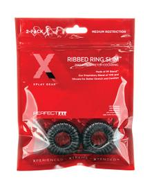 XPLAY PF BLEND PREMIUM STRETCH RIBBED RING SLIM 2 PK