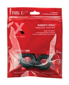 XPLAY PF BLEND PREMIUM STRETCH RIBBED RING 2 PK