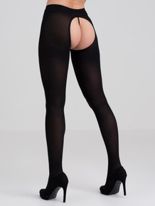 FIFTY SHADES CAPTIVATE BLACK SPANKING TIGHTS O/S