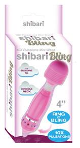SHIBARI SEXY! BLING BLING MINI WAND PINK