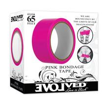 EVOLVED BONDAGE TAPE PINK 65 FT