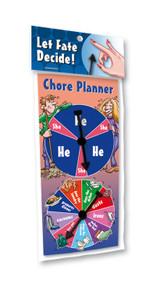 CHORE PLANNER SPINNER GAME