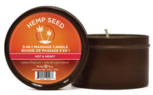 CANDLE 3 IN 1 HOT & HEAVY 6 OZ
