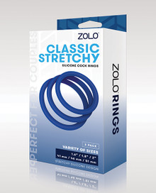 ZOLO CLASSIC STRETCHY SILICONE COCK RING