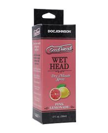 GOODHEAD WET HEAD DRY MOUTH SPRAY PINK LEMONADE 2 OZ