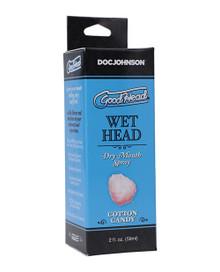 GOODHEAD WET HEAD DRY MOUTH SPRAY COTTON CANDY 2 OZ