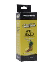 GOODHEAD WET HEAD DRY MOUTH SPRAY PINEAPPLE 2 OZ
