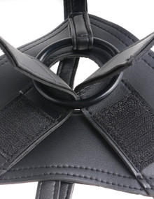 KING COCK STRAP ON HARNESS W/ 6 IN COCK LIGHT
