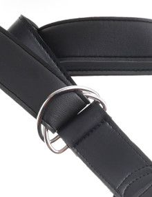 KING COCK STRAP ON HARNESS W/ 9 IN COCK LIGHT