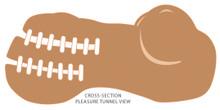 CLOUD 9 PERSONAL MINI BODY STROKER - TAN