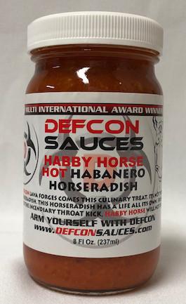 Defcon Habby Horse - Hot Habanero Horseradish / 8oz jar