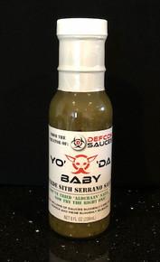 DEFCON Yo' 'Da Baby - Verde Sauce - 8 oz bottle