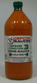 DEFCON Sauces - #3 quart size bottle