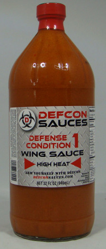 DEFCON Sauces - Defense Condition #1 - 32oz