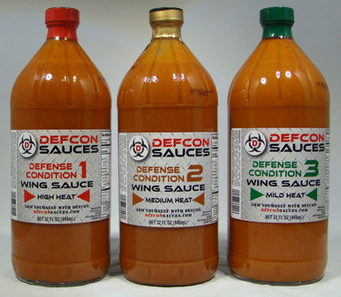 Galactus - 32oz of each Defcon #3, Defcon #2, and Defcon #1