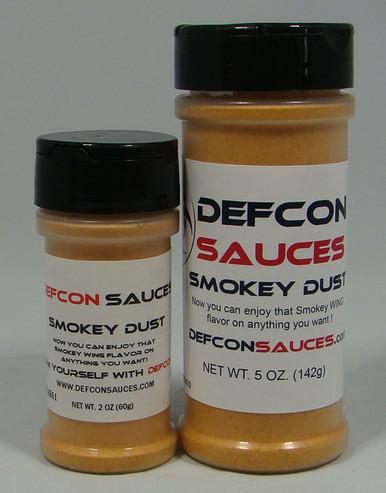 DEFCON Sauces - Smokey Dust 2oz and 5oz