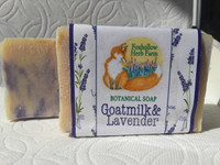 Goat Milk & Lavender Botanical Soap