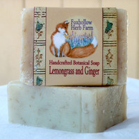 Lemongrass and Ginger Botanical Soap