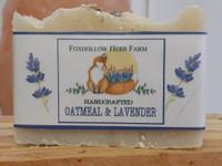 Oatmeal and Lavender Botancal Soap