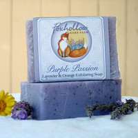 Purple Passion Exfoliating Botanical Soap