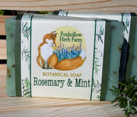 Rosemary and Mint Botanical Soap