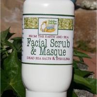 Foxhollow Herb Farm Earth & Sea Facial Scrub and Mask