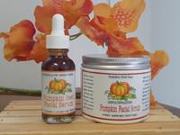 Foxhollow Herb Farm Organic Pumpkin Face Food Facial Scrub & Cleansing Mask