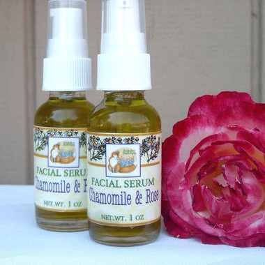 Foxhollow Herb Farm Rose and Chamomile Facial Serum
