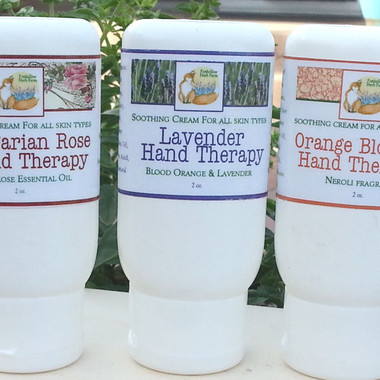 Foxhollow Herb Farm Hand and Foot Therapy Creams