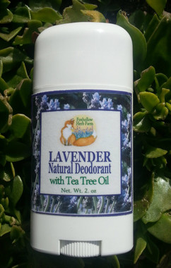 Foxhollow Herb Farm Natural Lavender Deodorant