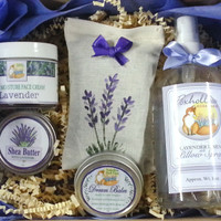Foxhollow Herbs Lavender Dream Gift Set