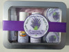 This kit contains a 1 oz. Lavender Cleansing Milk, a 1 oz. Lavender Astringent, a 1 oz. Lavender Facial Spray and 1 oz. Lavender Facial Cream and a 1 oz. Lavender Shea Butter. Each product is a best seller.  So give them a try with this lovely Legends of Lavender Sampler Kit.
