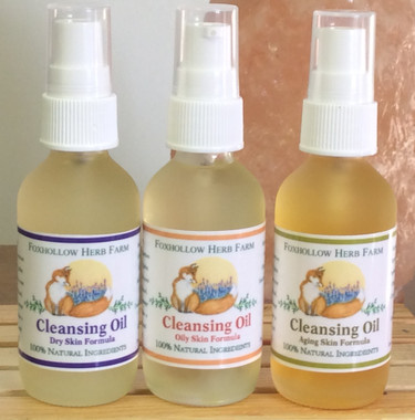 Carefully handcrafted 100% natural Facial Cleansing Oils to nuture the skin and balance the production of your skins own natural oil.