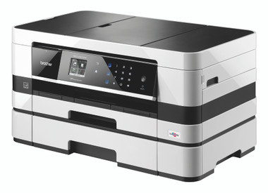 Brother MFC-J4610DW A4 Inkjet All-In-One Wireless Printer, Scanner, Copier and Fax with A3 Capabilities
