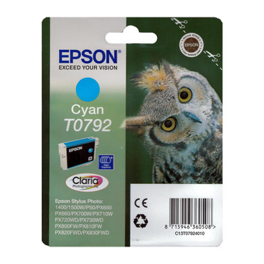 Epson T0792 STYLUS PHOTO High Capacity Cyan Ink