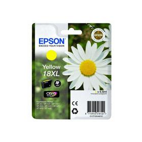 Genuine Epson 18XL Yellow High Capacity Ink Cartridge