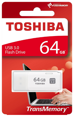 Toshiba TransMemory U301 64GB USB 3.0 Flash Drive