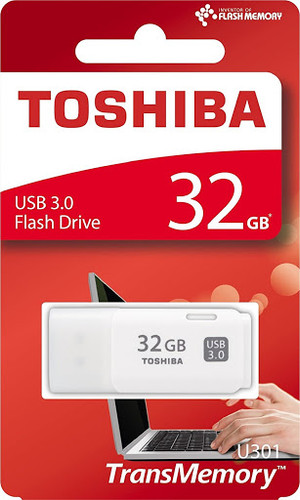 Toshiba TransMemory U301 32GB USB 3.0 Flash Drive